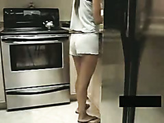 College pussy screwed during the time that cooking for friend