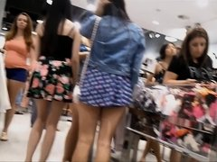 Asian Slut Day At The Mall