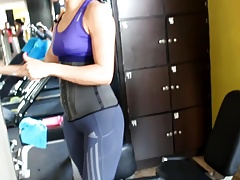 yes!!! fitness hot ASS hot CAMELTOE 90