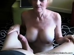 Creampie For My Sweet Old Granny