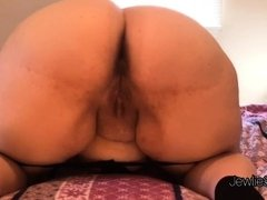 Fire BBW spreads and shakes ass, shows off ass hole and talks dirty!l
