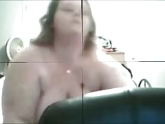 2 freaky horny bbw's home alone playing with cucumbers!Pre