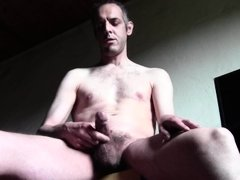 15 CUM SHOTS, HOT DILF, HARD COCK, HAIRY NAKED - HOMEMADE AMATEUR SOLO MALE - with LUCA BIANCHI