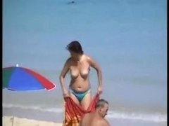 Beach voyeur - vintage - hidden camera