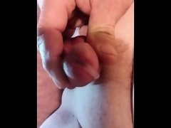 My Small Cock Orgasm Wet And Throbbing!!