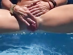 Rub her big clit meaty pussy to climax.mp4