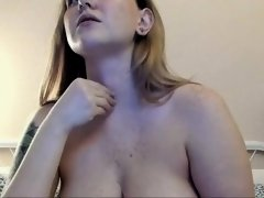 spivi is the dream camgirl when she sucks on her own tits
