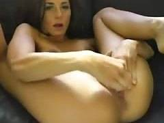 Amy Strips and Masturbates