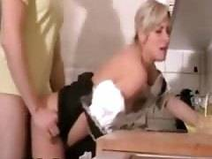 Horny German whore getting drilled hard