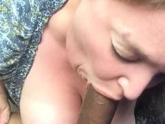 BBW sucking BBC on lunch break 2