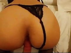 Doggy Fuck With A Slender Babe With A Black Thong