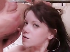 Sexy Babe Double Teamed By Two Fat Cocks